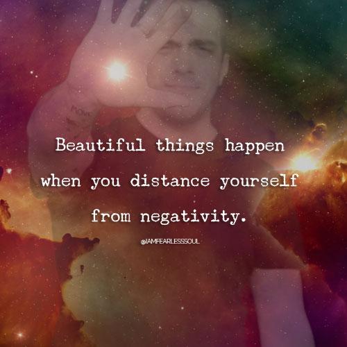 Hal Hal Indah Terjadi Saat Anda Melepaskan Diri dari Negatifitas
