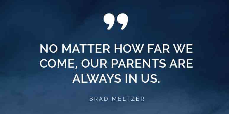 Bekal Teladan dan Nilai dari Orangtua Kita